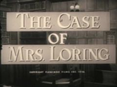 The Case Of Mrs Loring 1958 DVD - Julie London / Anthony Steel